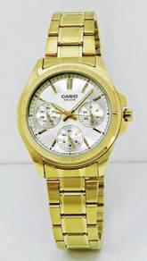 CASIO Ladies Multifunction Watch LTP-2088G-9AVDF