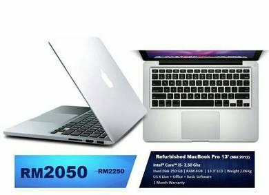 Refurbished MacBook Pro 13'