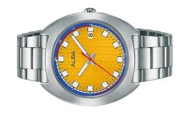 ALBA Men Date Stainless Steel Watch VJ42-X301YBLS