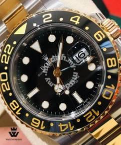 Rolex GMT Master II Half Gold 116713LN