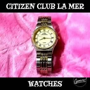 Citizen Club La Mer Urban Traditional Watches