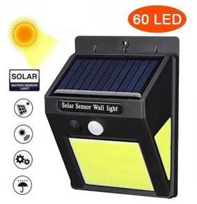 60COB LED LiGHT SOLAR MOTION SENSOR WALL LAMP 🔥