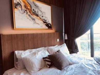 Condo For Rent Below Market Almas Suites Puteri Habour 1 Bed Near Tuas