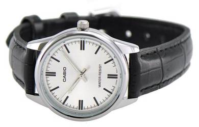 Casio Ladies Analog Leather Watch LTP-V005L-7AUDF