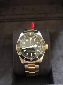 Tudor S&g Black Bay