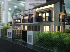 Freehold 100FT SuperYard 2Storey Teres PutraHillView Bangi Kajang area