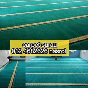 Colour baru karpet surau dan masjid