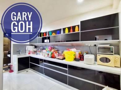 3 Storey Terrace Casa Idaman 3000sqt Farlim Beriksa Ayer Itam Extended