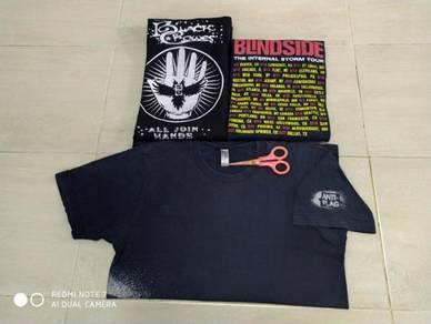 The Black Crowes, Blindside, Anti-Flag