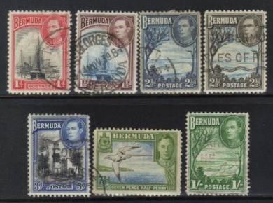 Bermuda 1938 kgvi definitives used cat 10+ bk44