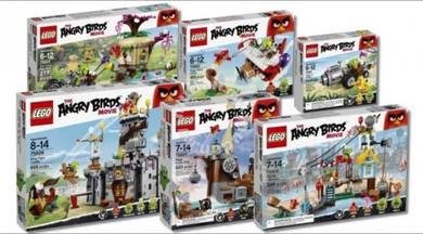 Lego Angry Bird Full Set 75826 (Assembled)
