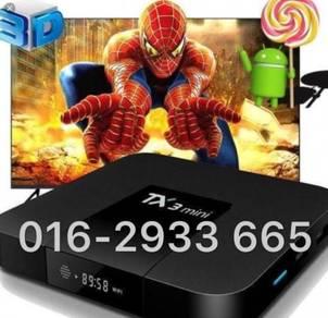 Tx3 ott 2/16g Android mini tv box core