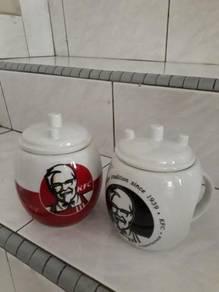 KFC Antique Mugs