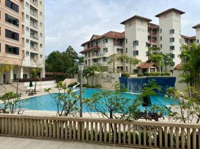 {SPACIOUS FACING GOLF COURSE} Putri Palma Condominium Putrajaya, Big