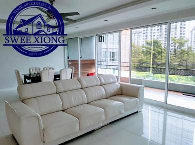 CENTRAL PARK 2600SF 2CP LowFloor FullyReno at BATU LANCANG GREENLANE