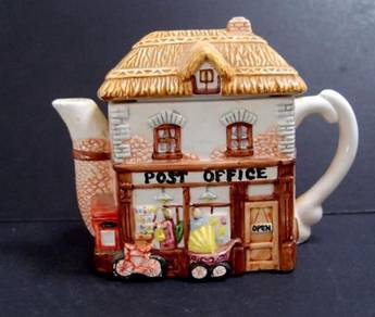 UK Decorative Teapot -