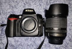 D90 With Lens & Bag