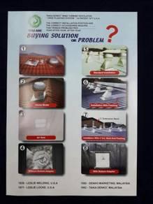 Turbine Ventilator - Taika Denko - Selangor