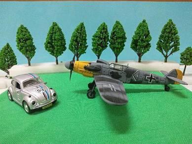 Messerschmitt bf 109 & volkswagen scenery