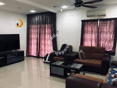 Fully furnished 2sty corner house tmn pahlawan mahkota cheras sg long