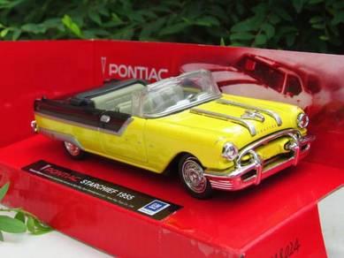New RaY 1-43 Classics Car Pontiac Starchief 1955