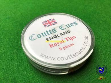 Coutts Cues Royal Pressed Snooker Cue Tips