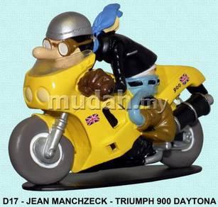 D17 Jean Manchzeck TRIUMPH 900 DAYTONA