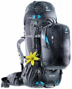 17RAGg DEUTER QUANTUM 60+10 SL TRAVEL BACKPACK