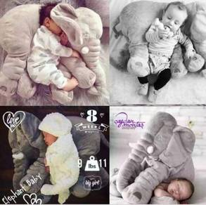 Elephant Soft Toy - Patung Gajah Saiz Besar Lembut