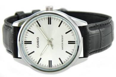Casio Men Analog Leather Watch MTP-V005L-7AUDF