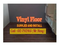 PVC Vinyl Floor - With Install 97PY