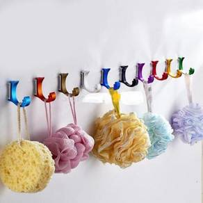 Colorful cloth hook / hook baju