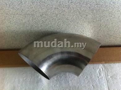 1.2mm standard steel elbow for intercooler pipe