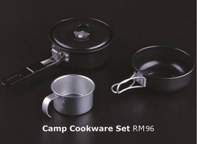 Camping Cookware Kettle Set
