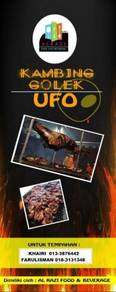 Pakej kambing golek ufo (kota bharu)