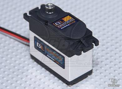 Hobbyking BL-89601 Digital Brushless MG HV Servo 6