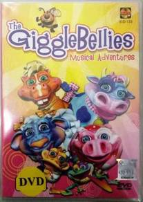 DVD The Giggle Bellies Musical Adventures