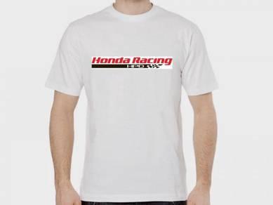 Tshirt Baju HONDA RACING H19 TSV Siap Pos Laju