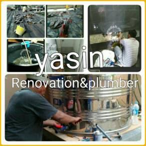 Water propin roof leaking putra jaya