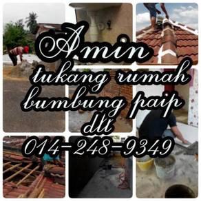 Sediakan kerja leaking roof putrajaya