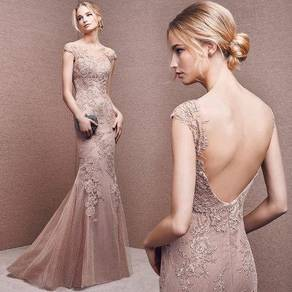 Nude wedding prom evening dress gown RBP1213