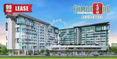 NEW 2 Bedroom at Campus Hub Kota Samarahan