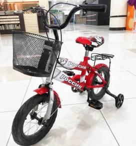Basikal 12 inci poccnr kanak-kanak