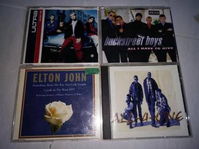 Cd lagu backstreet boys, all four one, elton J