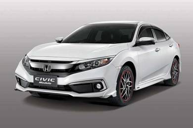Honda civic new face fc modulo bodykit with paint