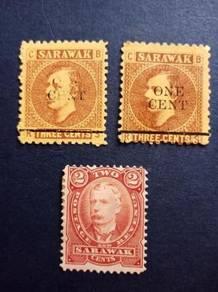 Stamp Sarawak BROOKE Z769
