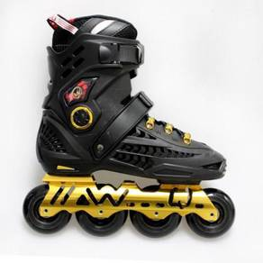 Rollerblade Black Emas kasut roda dewasa Offer