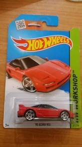 HotWheels '90 Acura NSX Red