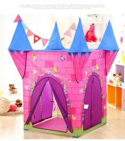 Kids Play House Tent ( CH 1013-P ) Pink Castle