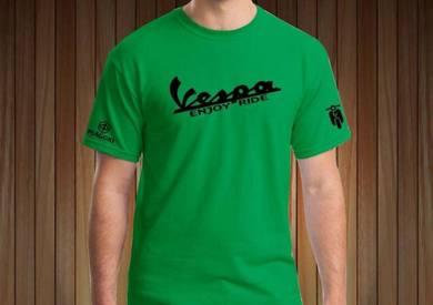 Tshirt Baju VESPA V1 TSV Siap Pos Laju